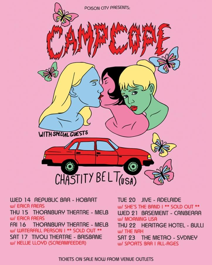 camp cope tour