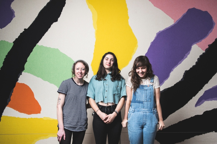 Camp Cope filming at Sydney Opera House