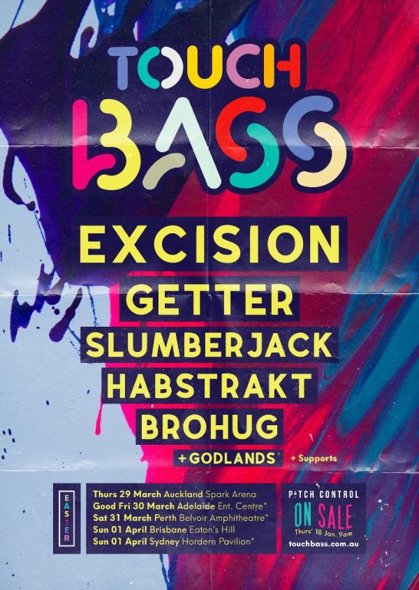 touch bass tour