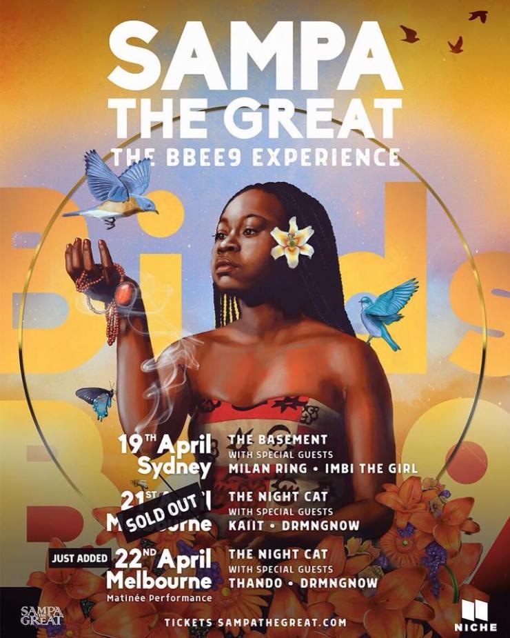 sampa the great tour