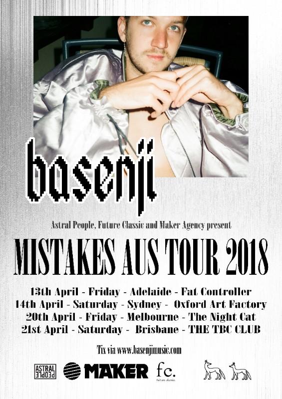 tour poster benji